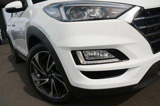 2018 Hyundai Tucson TLE3 MY19 Special Edition AWD Polar White 8 Speed Sports Automatic Wagon.