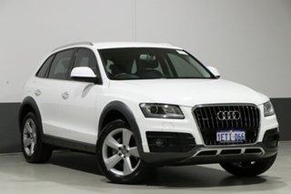 2014 Audi Q5 8R MY14 2.0 TDI Quattro White 7 Speed Auto Dual Clutch Wagon.