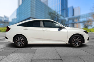 2018 Honda Civic 10th Gen MY18 VTi-S Luxe White Orchid 1 Speed Constant Variable Sedan