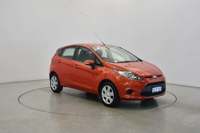 Used Ford Fiesta WT CL, 2012 Ford Fiesta WT CL Chilli Orange 5 Speed Manual Hatchback