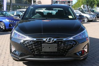 2018 Hyundai Elantra AD.2 MY19 Sport DCT Phantom Black 7 Speed Sports Automatic Dual Clutch Sedan