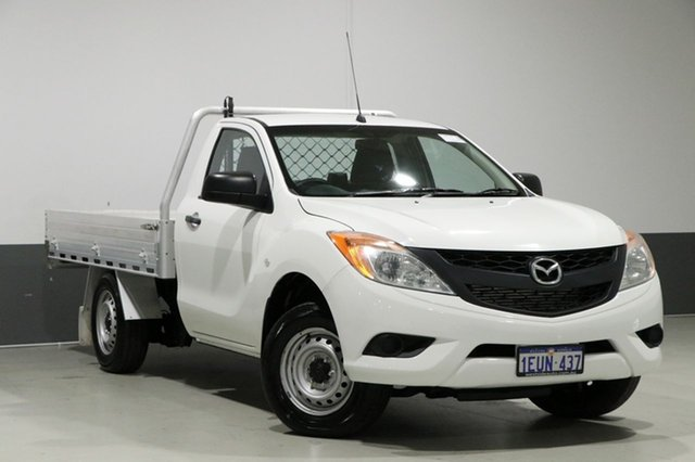 Used Mazda BT-50 MY13 XT (4x2), 2015 Mazda BT-50 MY13 XT (4x2) White 6 Speed Manual Cab Chassis