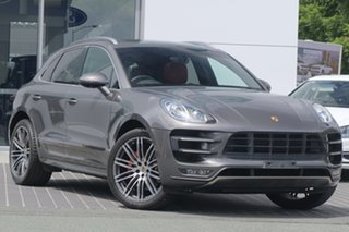 2014 Porsche Macan 95B MY15 Turbo PDK AWD Grey 7 Speed Sports Automatic Dual Clutch Wagon.