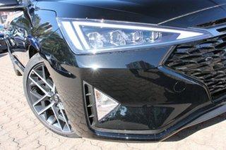 2018 Hyundai Elantra AD.2 MY19 Sport DCT Phantom Black 7 Speed Sports Automatic Dual Clutch Sedan.