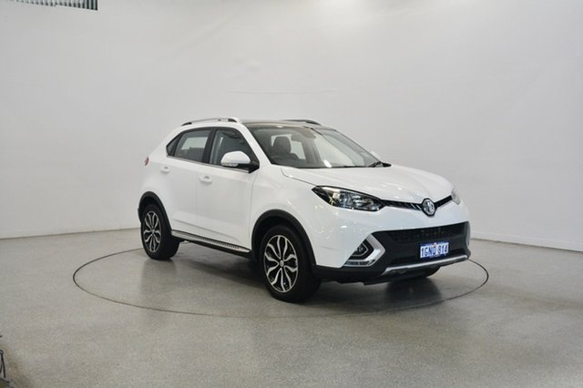 Used MG GS SAS2 MY17.5 Essence DCT AWD X, 2018 MG GS SAS2 MY17.5 Essence DCT AWD X Mountain White & Black Roof 6 Speed