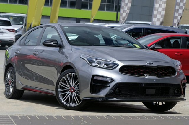 New Kia Cerato BD MY20 GT DCT, 2019 Kia Cerato BD MY20 GT DCT Steel Grey 7 Speed Sports Automatic Dual Clutch Hatchback