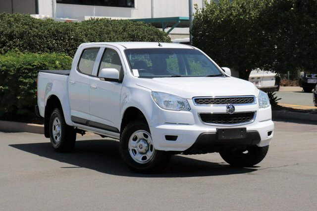 Used Holden Colorado RG MY15 LS Crew Cab 4x2, 2014 Holden Colorado RG MY15 LS Crew Cab 4x2 Summit White 6 Speed Sports Automatic Utility