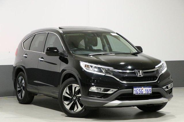 Used Honda CR-V 30 Series 2 VTi-S (4x4), 2015 Honda CR-V 30 Series 2 VTi-S (4x4) Black 5 Speed Automatic Wagon