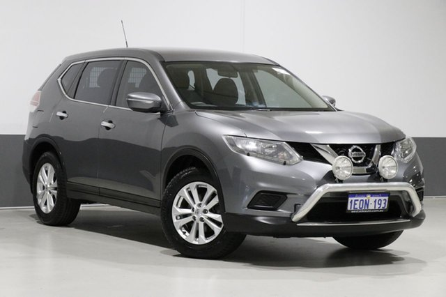 Used Nissan X-Trail T32 ST (4x4), 2014 Nissan X-Trail T32 ST (4x4) Grey Continuous Variable Wagon