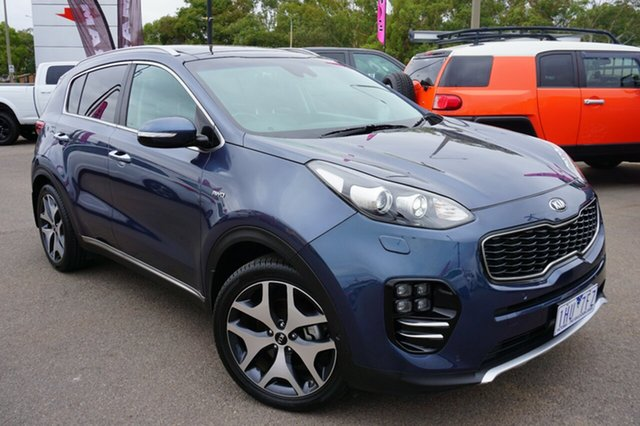 Used Kia Sportage QL MY17 GT-Line AWD, 2016 Kia Sportage QL MY17 GT-Line AWD Grey 6 Speed Sports Automatic Wagon