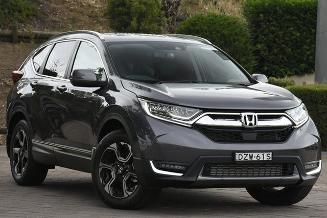 Demo Honda CR-V RW MY18 VTi-LX 4WD, 2018 Honda CR-V RW MY18 VTi-LX 4WD Modern Steel 1 Speed Constant Variable SUV