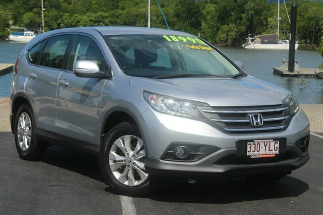 Used Honda CR-V RM MY14 DTi-S 4WD, 2014 Honda CR-V RM MY14 DTi-S 4WD Silver 6 Speed Manual Wagon