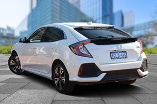 2017 Honda Civic 10th Gen MY17 VTi-L White Orchid 1 Speed Constant Variable Hatchback.