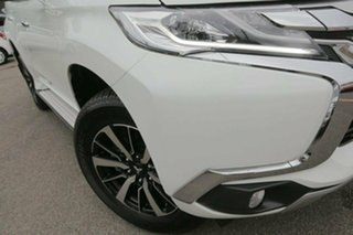 2017 Mitsubishi Pajero Sport QE GLS White 8 Speed Sports Automatic Wagon.