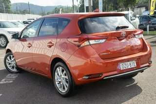2017 Toyota Corolla ZRE182R Ascent Sport S-CVT Orange 7 Speed Constant Variable Hatchback.