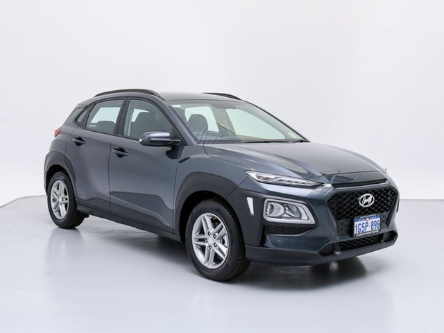 Demo Hyundai Kona OS Active (FWD), 2018 Hyundai Kona OS Active (FWD) Dark Knight 6 Speed Automatic Wagon