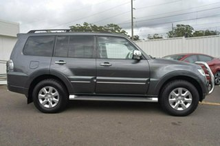 2012 Mitsubishi Pajero NW Platinum Grey 5 Speed Sports Automatic Wagon