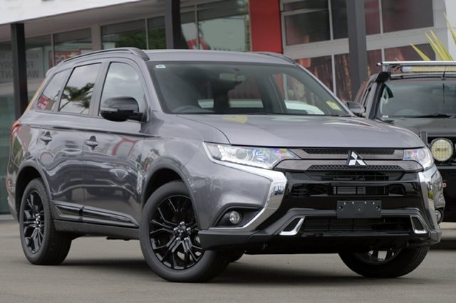 New Mitsubishi Outlander ZL MY20 Black Edition 2WD, 2020 Mitsubishi Outlander ZL MY20 Black Edition 2WD Titanium 6 Speed Constant Variable Wagon