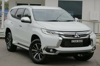 2017 Mitsubishi Pajero Sport QE GLS White 8 Speed Sports Automatic Wagon.