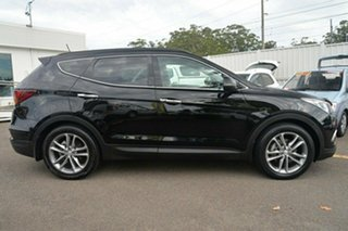 2016 Hyundai Santa Fe DM3 Series II Highlander Black 6 Speed Sports Automatic Wagon.