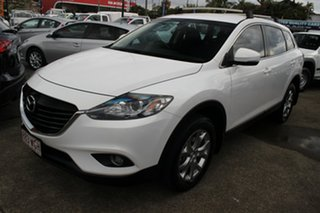 2015 Mazda CX-9 TB10A5 Classic Activematic White 6 Speed Sports Automatic Wagon.