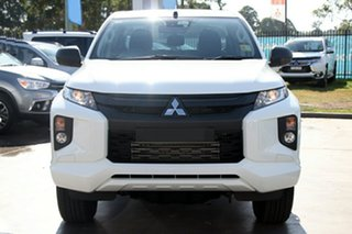 2019 Mitsubishi Triton MR MY19 GLX ADAS (4x4) White 6 Speed Automatic Double Cab Pickup