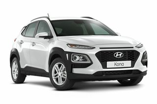 2018 Hyundai Kona OS.2 MY19 Active 2WD Chalk White 6 Speed Sports Automatic Wagon.