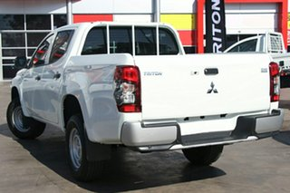 2019 Mitsubishi Triton MR MY19 GLX ADAS (4x4) White 6 Speed Automatic Double Cab Pickup.