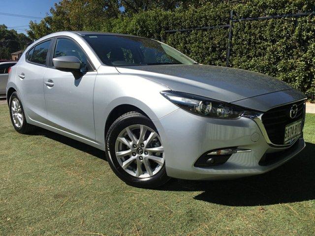 Used Mazda 3 BN5478 Maxx SKYACTIV-Drive Sport, 2018 Mazda 3 BN5478 Maxx SKYACTIV-Drive Sport Silver 6 Speed Sports Automatic Hatchback
