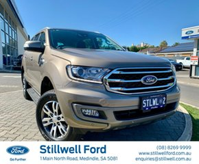 2018 Ford Everest UA II 2019.00MY Trend 4WD Diffused Silver 10 Speed Sports Automatic Wagon.