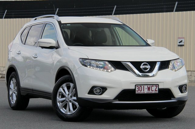 Used Nissan X-Trail T32 ST-L X-tronic 2WD, 2015 Nissan X-Trail T32 ST-L X-tronic 2WD Ivory Pearl 7 Speed Constant Variable Wagon