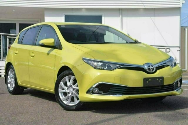Used Toyota Corolla ZRE182R Ascent Sport S-CVT, 2017 Toyota Corolla ZRE182R Ascent Sport S-CVT Yellow 7 Speed Constant Variable Hatchback