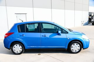 2011 Nissan Tiida C11 S3 ST Blue 4 Speed Automatic Hatchback