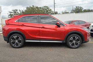 2017 Mitsubishi Eclipse Cross YA Exceed Maroon 8 Speed Constant Variable Wagon.