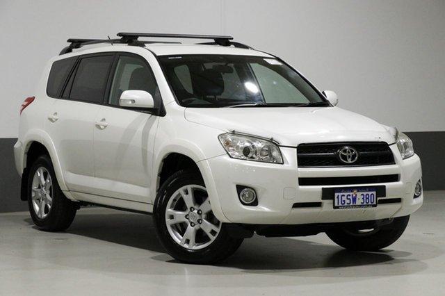 Used Toyota RAV4 ACA33R 08 Upgrade Cruiser (4x4), 2011 Toyota RAV4 ACA33R 08 Upgrade Cruiser (4x4) White 4 Speed Automatic Wagon