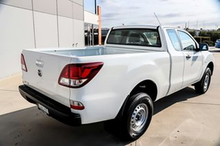2014 Mazda BT-50 UP0YF1 XT Freestyle 4x2 Hi-Rider Cool White 6 Speed Sports Automatic Cab Chassis