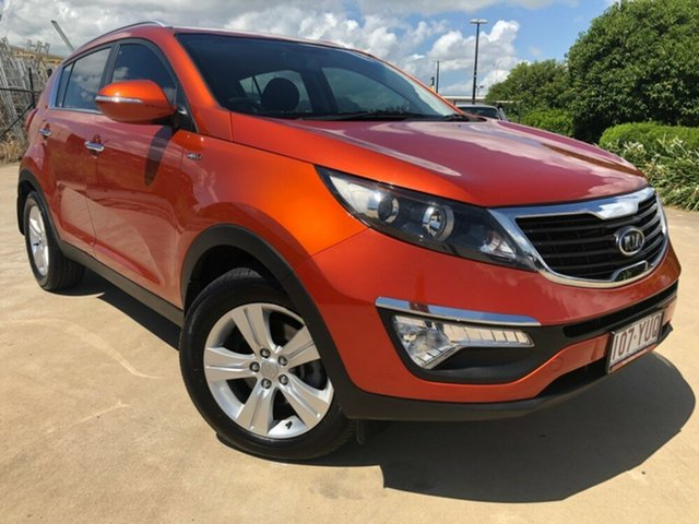 Used Kia Sportage SL SLi, 2011 Kia Sportage SL SLi Orange 6 Speed Sports Automatic Wagon