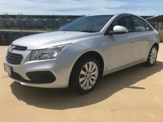 2016 Holden Cruze JH Series II MY16 Equipe Silver 6 Speed Sports Automatic Sedan