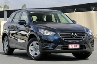 2016 Mazda CX-5 KE1072 Maxx SKYACTIV-Drive FWD Deep Crystal Blue 6 Speed Sports Automatic Wagon.