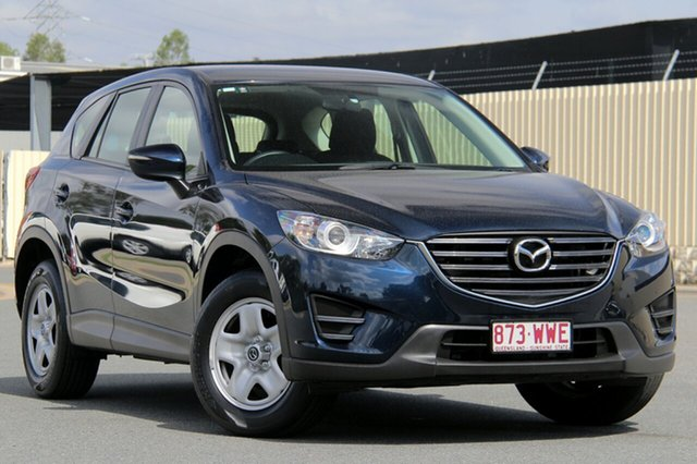 Used Mazda CX-5 KE1072 Maxx SKYACTIV-Drive FWD, 2016 Mazda CX-5 KE1072 Maxx SKYACTIV-Drive FWD Deep Crystal Blue 6 Speed Sports Automatic Wagon