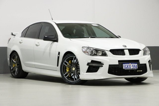 Used Holden Special Vehicles GTS Gen F MY15 , 2015 Holden Special Vehicles GTS Gen F MY15 White 6 Speed Manual Sedan
