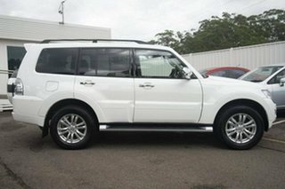 2017 Mitsubishi Pajero NX GLX White 5 Speed Sports Automatic Wagon.