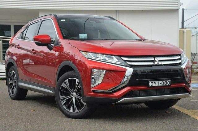 Used Mitsubishi Eclipse Cross YA Exceed, 2017 Mitsubishi Eclipse Cross YA Exceed Maroon 8 Speed Constant Variable Wagon