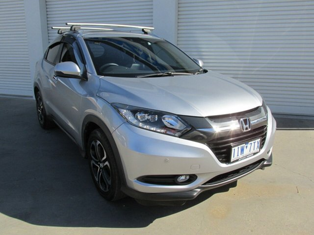 Used Honda HR-V MY16 VTi-L, 2016 Honda HR-V MY16 VTi-L Grey 1 Speed Constant Variable Hatchback