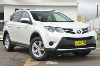 2013 Toyota RAV4 ALA49R GXL White 6 Speed Sports Automatic Wagon.