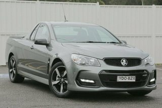 2016 Holden Ute VF II MY16 SS Ute Black Grey 6 Speed Manual Utility.