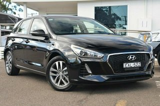 2017 Hyundai i30 PD Active Black 6 Speed Sports Automatic Hatchback.