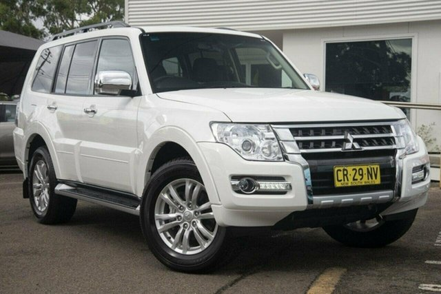 Used Mitsubishi Pajero  GLX, 2017 Mitsubishi Pajero NX GLX White 5 Speed Sports Automatic Wagon