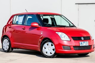 2007 Suzuki Swift RS415 Red 4 Speed Automatic Hatchback.