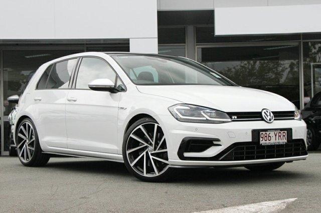 Demo Volkswagen Golf 7.5 MY19 R DSG 4MOTION, 2018 Volkswagen Golf 7.5 MY19 R DSG 4MOTION Pure White 7 Speed Sports Automatic Dual Clutch